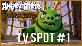 Angry Birds Avengers:Infinity War Trailer TV Spot Happy New Year (2018)