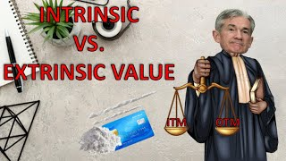 WhY aM i NoT gEtTiNg AsSiGnEd?? Understanding Intrinsic vs. Extrinsic Value on Options // Theta Gang