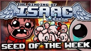 The Binding of Isaac: Rebirth - Seed of the Week: Splatter Cannon!
