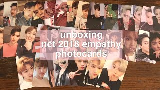 Baixar unboxing | nct 2018 empathy photocard set