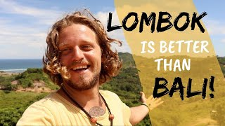 Lombok: The REAL Paradise | Cheap Travel Southeast Asia Ep16