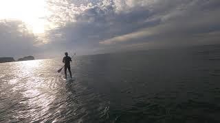 만리포 선셋 패들보드 서핑 !!