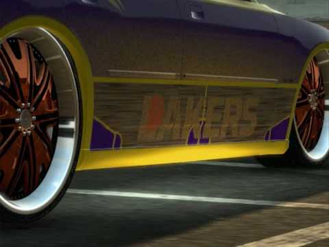 Dodge Charger Srt >> Car Show: Dodge Charger SRT8 ''Los Angeles LAKERS'' By SFD Custom Cars.(Midnightclub Los Angeles ...