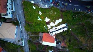 Decenas de turistas mueren en accidente de bus en Madeira