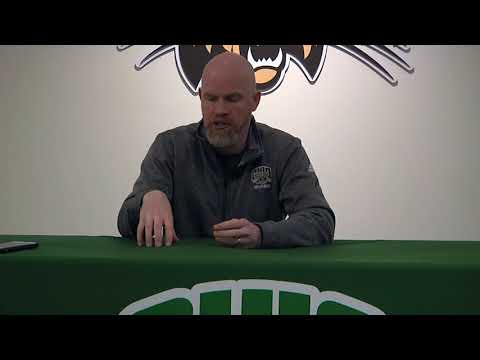 Ohio Volleyball 2017: Deane Webb Press Conference 11/13