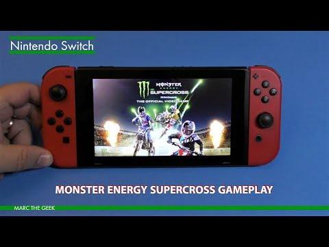 Nintendo Switch: Monster Energy Supercross Gameplay