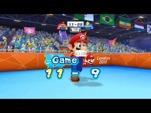 Mario and Sonic at the London 2012 Olympic Games: Part 9 - Table Tennis