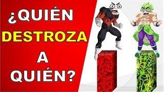¿QUIÉN es MAS PODEROSO JIREN O BROLY? | Dragon Ball Super Explicación Completa