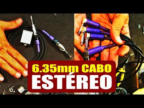 DIY Cabo P10 ESTÉREO - Como Montar Um Cabo De Qualidade   Tudo Sobre Teclado Musical