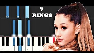 Ariana Grande - 7 Rings (Piano Tutorial) Video