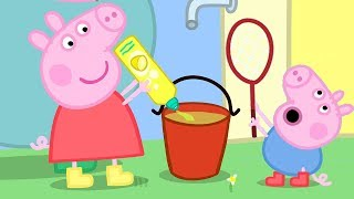 Peppa Pig Channel | Peppa Pig and George Pig Play With Bubbles