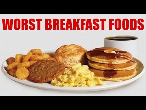 WORST Breakfast Foods & Healthy Alternatives! What to Eat, Weight Loss Tips   Corrina Rachel