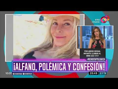 ¡Alfano, polémica y confesión!