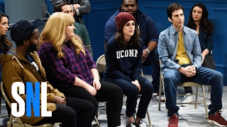 Students (Kristen Stewart, Aidy Bryant, Pete Davidson, Kyle Mooney) share stories of drunken mishaps. Subscribe to SNL: https://goo.gl/tUsXwM Get more SNL: ...