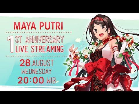 #maya1st | Maya Putri 1st Channel Anniversary Live Stream