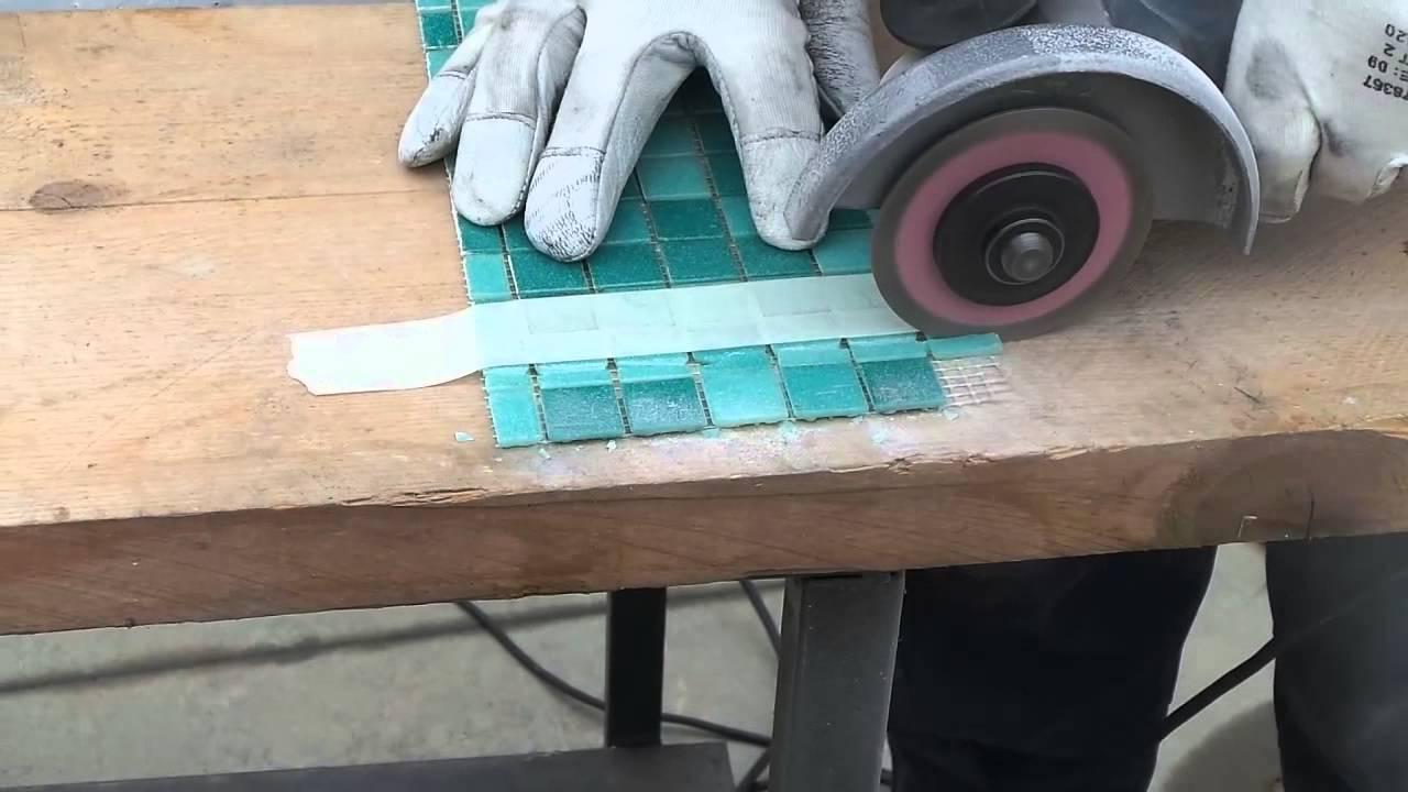 85mos su vetro youtube - Tagliare piastrelle gres con flessibile ...