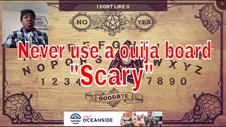 NEVER PLAY OUIJA BOARD APP ON YOUR PHONE GUY'S THIS IS SO SCARY
