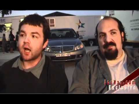 Death Race 2  Exclusive OnSet  with Frederick Koehler and Joe Vaz  13