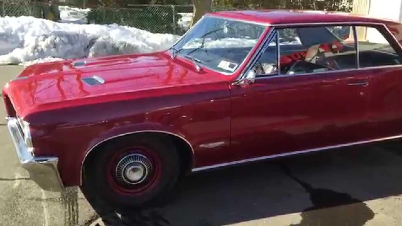 1964 Pontiac Gto For Sale Hollywoodmotorsusacom Youtube 1965 Phs Documented 4 Speed Tri Power 389 Red Black