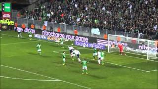 ASSE 1-2 OL but de briand avec commentaire tonic radio