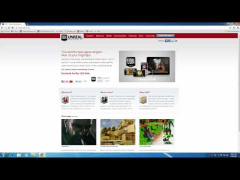 Unreal Development Kit UDK Tutorial - 1 - Downloading an Installing the UDK