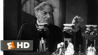 Bride of Frankenstein (1/10) Movie CLIP - Pretorius Shows Henry His Experiment (1935) HD