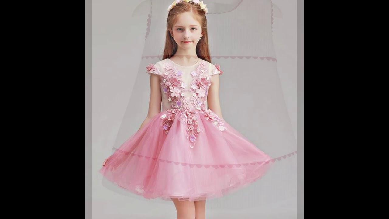 47 Vestidos De Niñas Para Fiesta Y Boda Elegantes Bonitos Y
