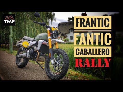 Fantic Caballero 500 Rally Review - YouTube