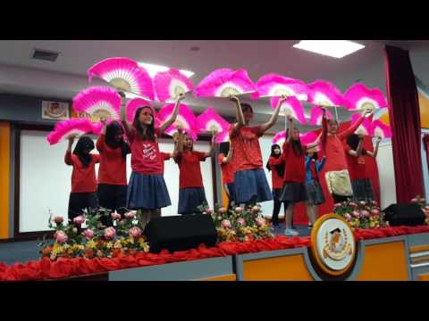 PAIS Chinese Fan Dance 2016