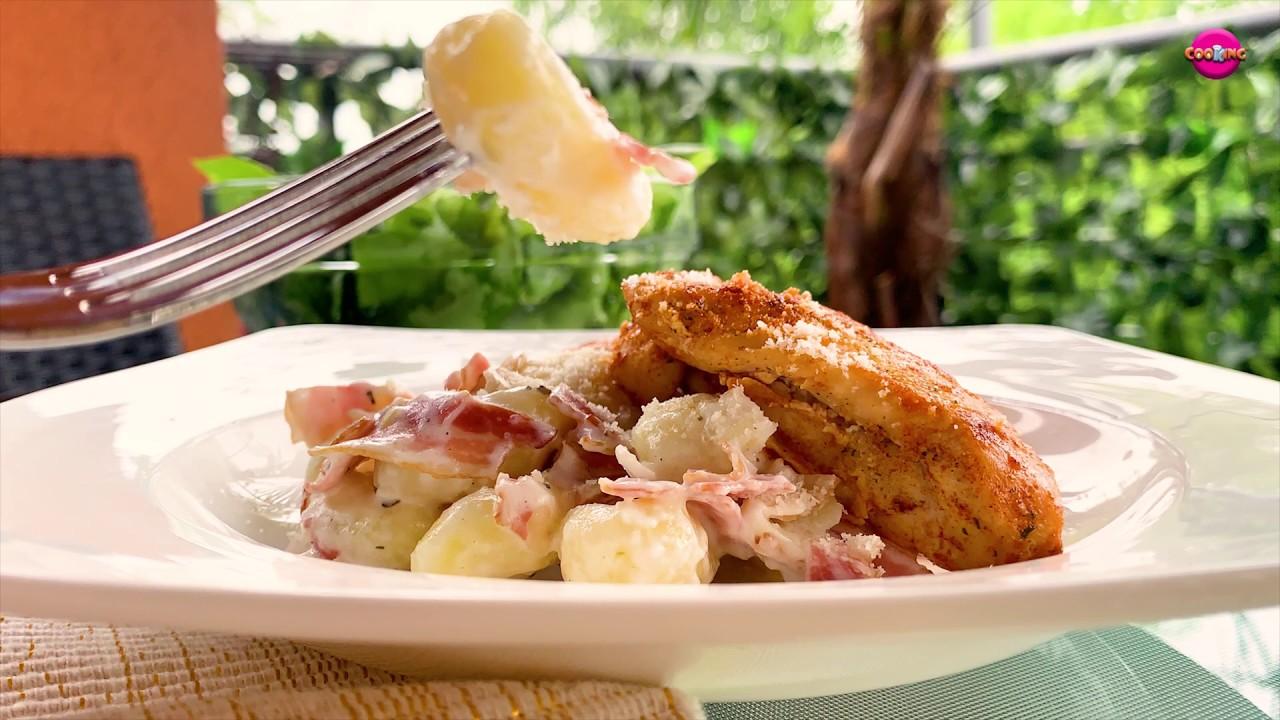 Kremaste njoke sa pancetom i piletinom - Chicken Bacon Gnocchi - CooKing Recepti