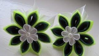 Как сделать цветы из ткани?