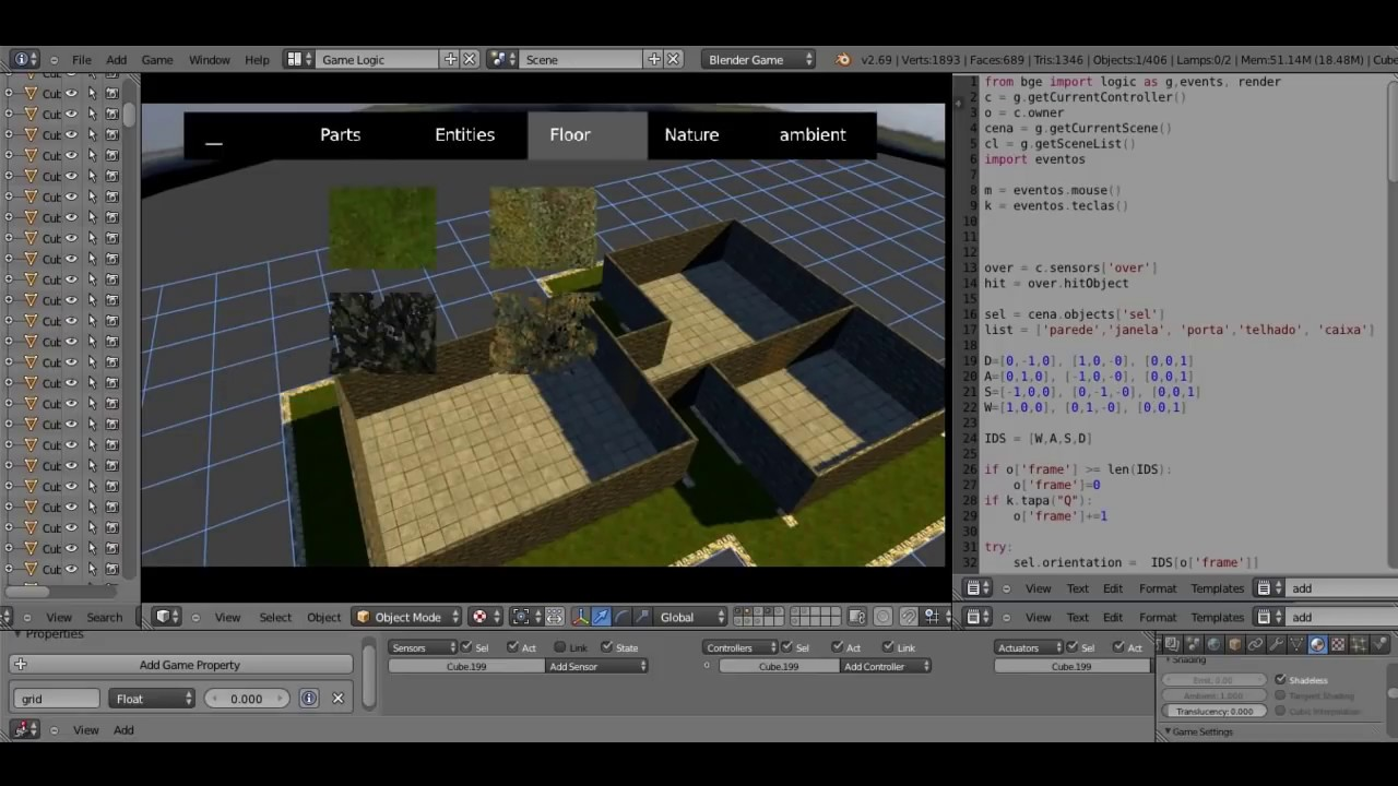 Blender Level Editor 3.0 (Game Maker In BGE - Project Six ...