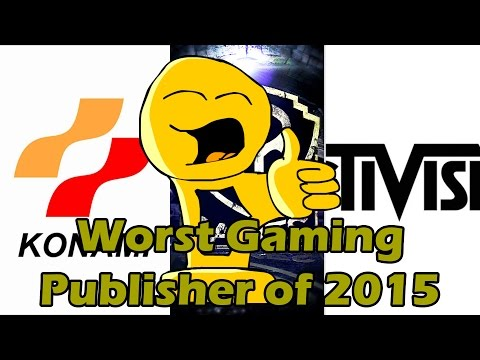 Worst Gaming Publisher of 2015 - Good For You Awards