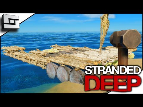 BARGE BUILDING BEGINS! Stranded Deep Gameplay S4E13
