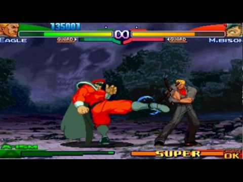Street Fighter Alpha 3 Max - Eagle Playthrough 2/2