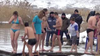 Водохреща в Білокуракине, 19.01.2015