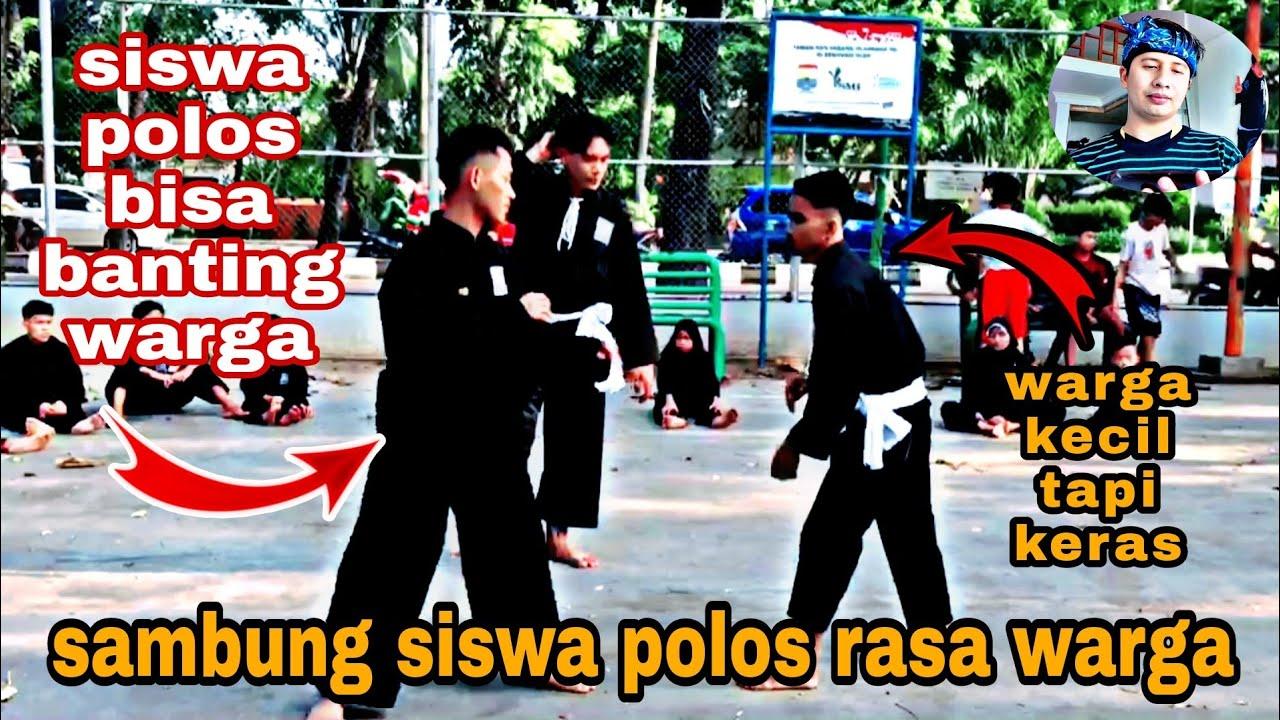 Sambung keras warga vs siswa Polos, siswanya bisa membanting warganya
