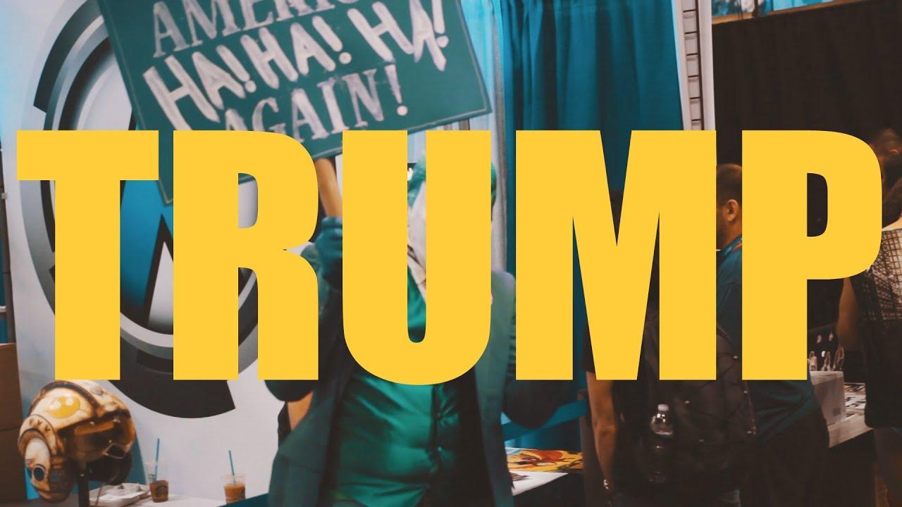 Donald Trump Goes To Comic Con 2016