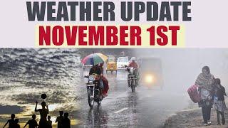 Weather Update for Bengaluru, Chennai, Delhi, Hyderabad and Mumbai on November 1 | Oneindia News