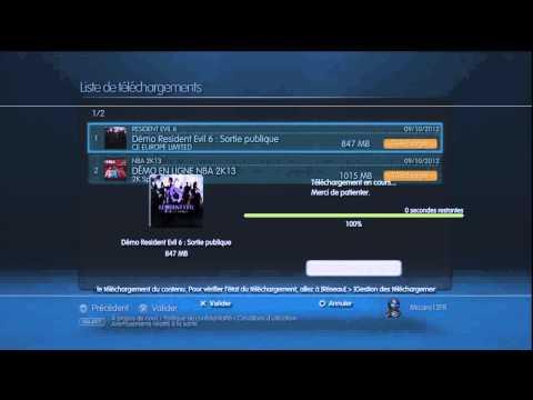 Comment télécharger un contenu depuis sa liste de téléchargement sur PS3 ?