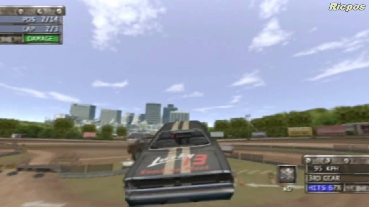 ps2 - test drive  eve of destruction - jump race