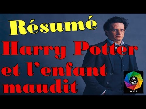 Résumé Harry Potter Et L'enfant Maudit SPOIL Albus Scorpius Delphi Voldemort Bellatrix Cursed Child