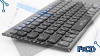 Обзор беспроводной клавиатуры с тачпадом Oklick 850ST (F1CD)