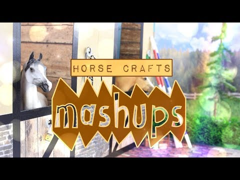 Mash Ups: Horse Crafts - How to Make: Arena | Breyer Barn | Caddy | Stables | Water Stall & More