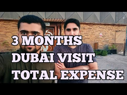 COST OF LIVING IN DUBAI FOR SINGLE PERSON !!!