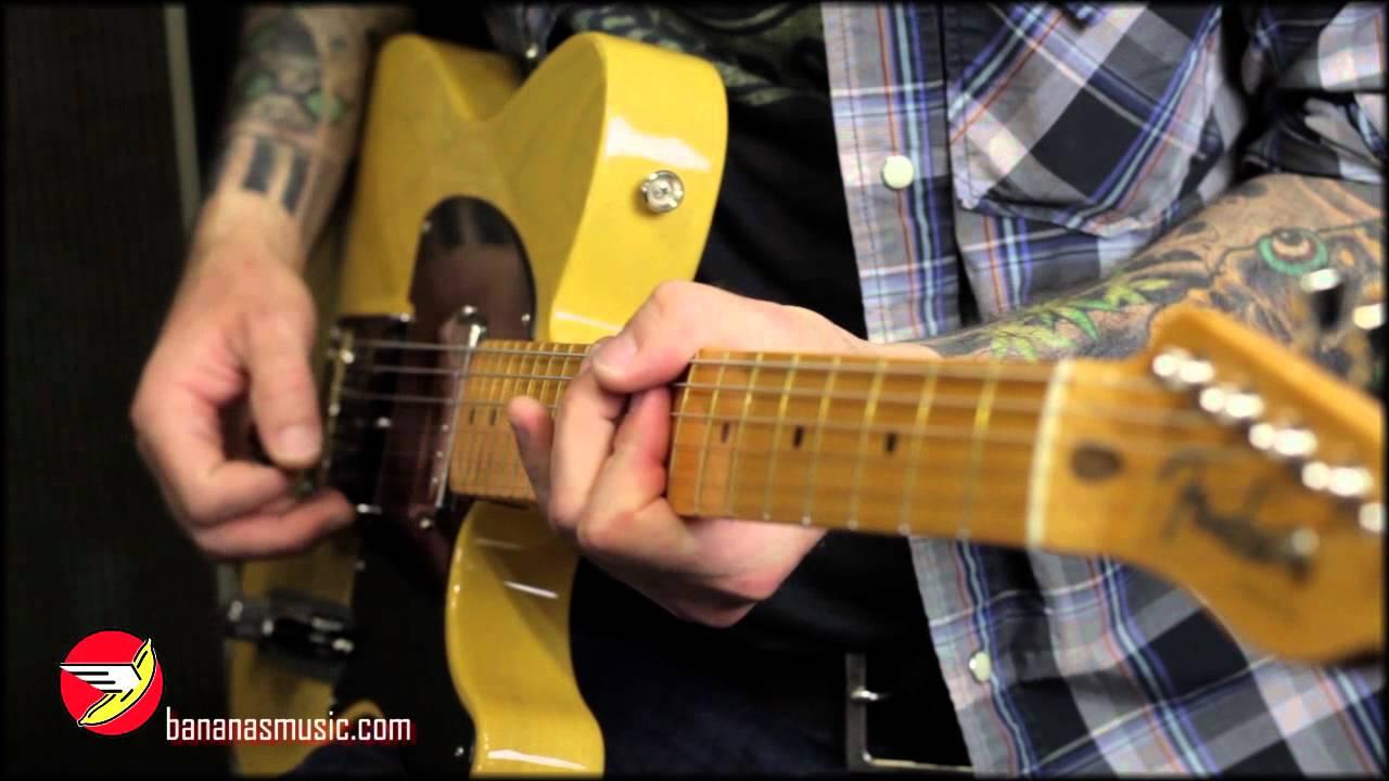 Competidores camuflaje exposición  Fender® Vintage Hot Rod '52 Telecaster Guitar - YouTube