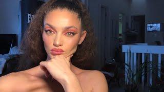 Valentines Day Makeup Look *lol*