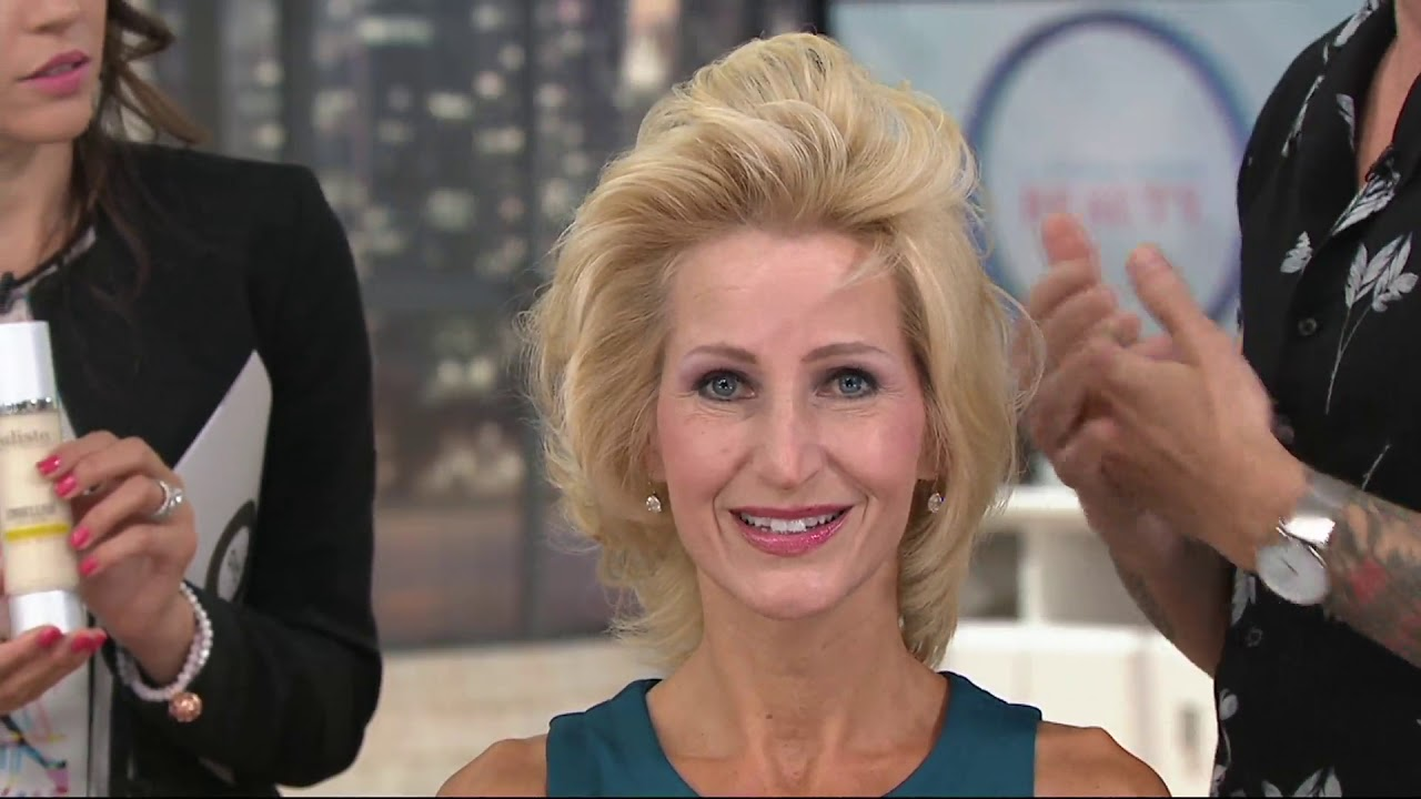Calista Jousse Gel Mousse Volumizing Hair Styler On QVC