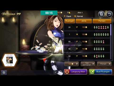 DOMINO 99 | INDOPLAY ~double series~ PASANG SEMUA GOLD