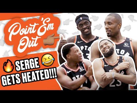 Toronto Raptors GOT Serge Ibaka HEATED! Storms Out!! 😂😂 | SLAM Point 'Em Out